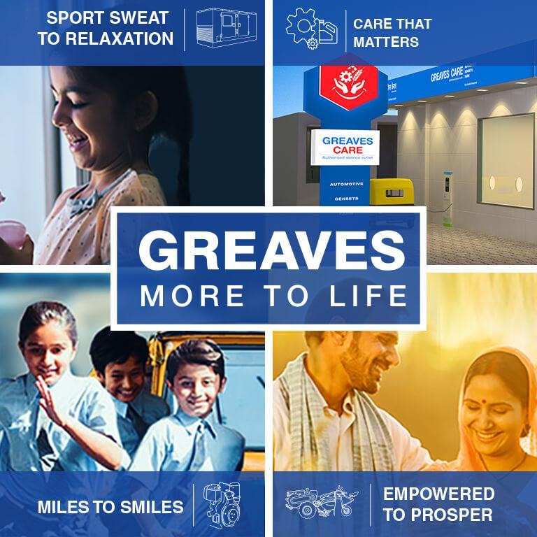 Greaves is a diversified engineering company and a leading