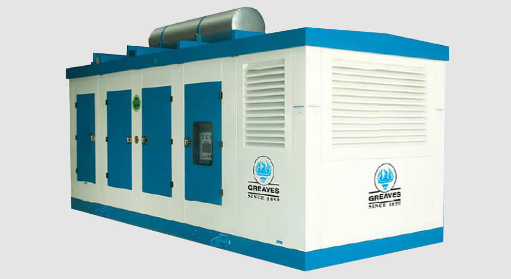 higher capacity diesel gensets