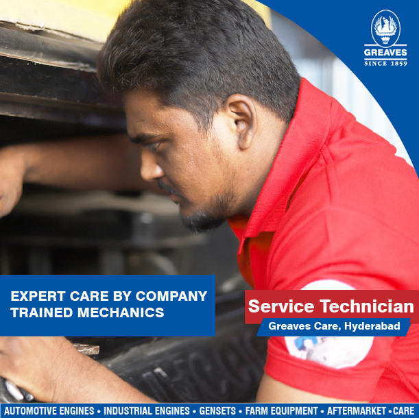 greaves service technician
